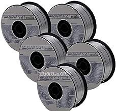 WeldingCity 5 Rolls of ER4043 Aluminum MIG Welding Wire 1-Lb Spool 0.030