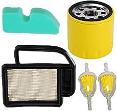 HIFROM Air Filter with Pre Filter Oil Filter and Fuel Filter for Cub Cadet KH-2088302-S1 LTX1040 Kohler 2008302 SV470S SV470 SV490 Toro 98018 LX420