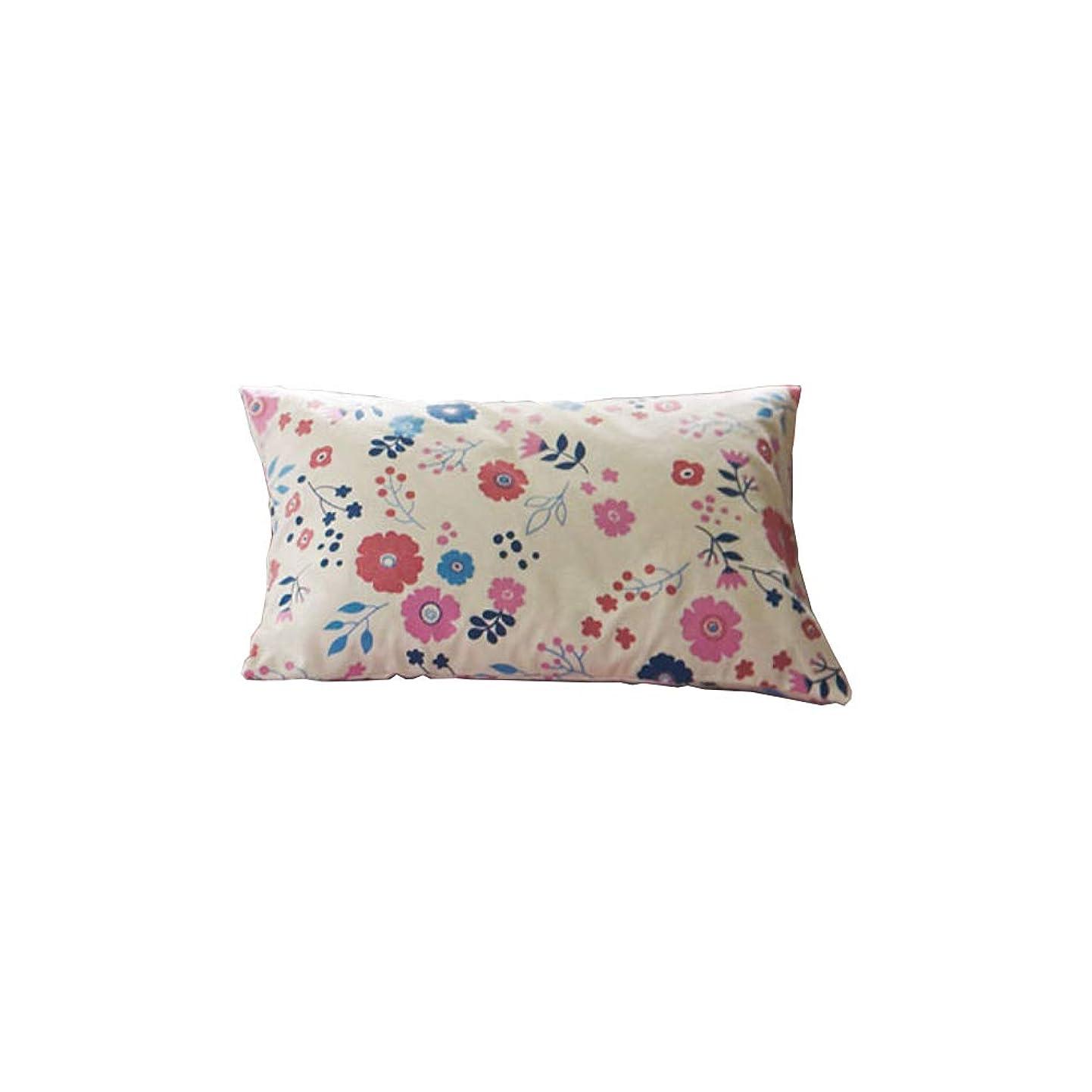 強化リスキーな回転させるセシール 枕カバー ピンク L(63×43cm) 綿100% ネルシャツ素材 小花柄 CR-1104