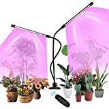 Colmanda Lámpara para plantas, 20W Lamparas Led Cultivo Strips Grow Light con 360° Adjustable Clip, Lámpara LED...
