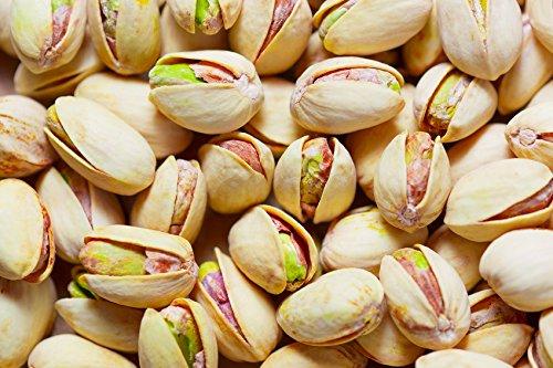 Pistachos Secos y Enteros | 1 Kg de Nueces de Pistacho con Cáscara | Frutos Secos Asados y Salados | Libre de Transgénicos (GMO free) | Veganos y Vegetarianos | Tostados | Dorimed