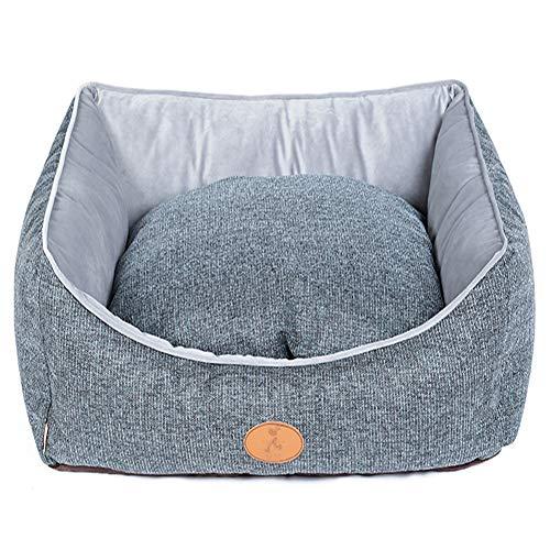 DJVD Hundebett Hood Aufblasbare Kennel Mat Hundebett Liner Joint-Relief Und Verbesserter Schlaf - Maschine Waschbar Für Kleine Mittlere Bis Große Haustier,35 * 27 * 11In