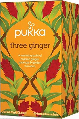 Pukka Drei Ingwer-Tee 20 Pro Packung