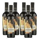 Vino Manzanilla Aurora de 50 cl - D.O. Manzanilla-Sanlucar de Barrameda - Bodegas Yuste (Pack de 6 botellas)