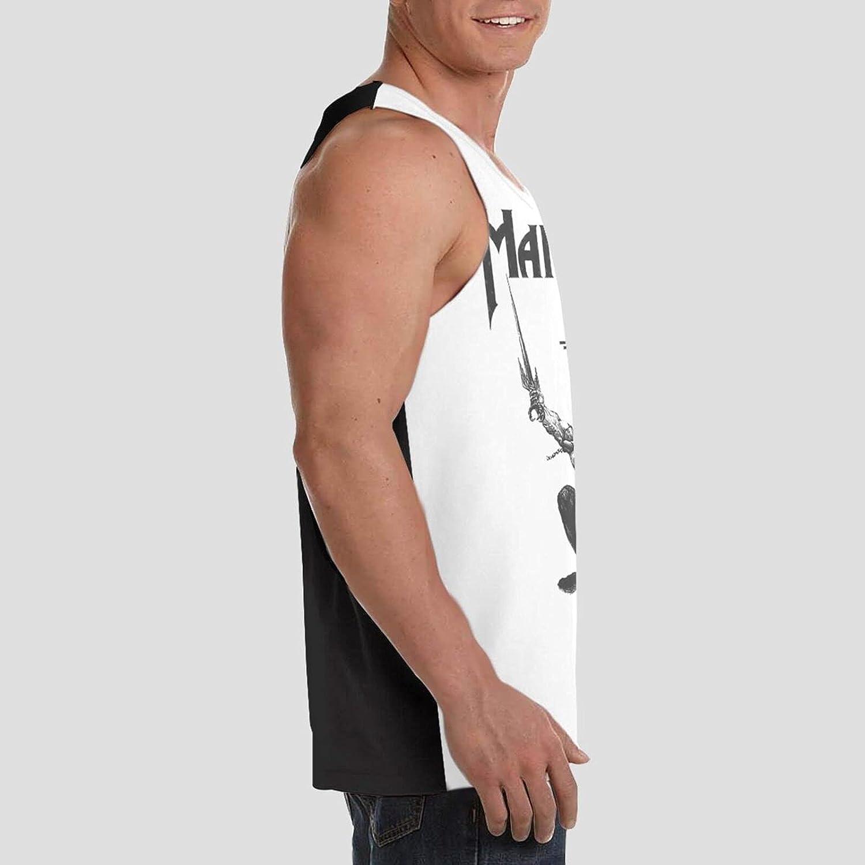 Manowar Tank Top Men's Summer Stylish Sleeveless Clothes Sport Gym Vest
