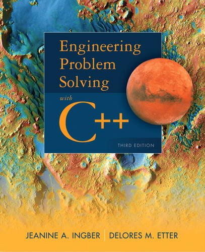 Engineering Problem Solving with C++ (3rd Edition)