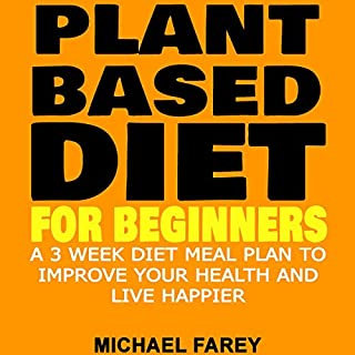 Plant Based Diet for Beginners cover art