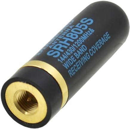 Ben-gi 2pcs Mini antenne Courte SMA-F UHF 400-480Mhz pour Kenwood pour Baofeng BF-888S UV-5R Radio Portable Talkie-walkie