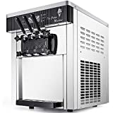 VEVOR Commercial Ice Cream Machine 5.3 to 7.4Gal per Hour Soft Serve...