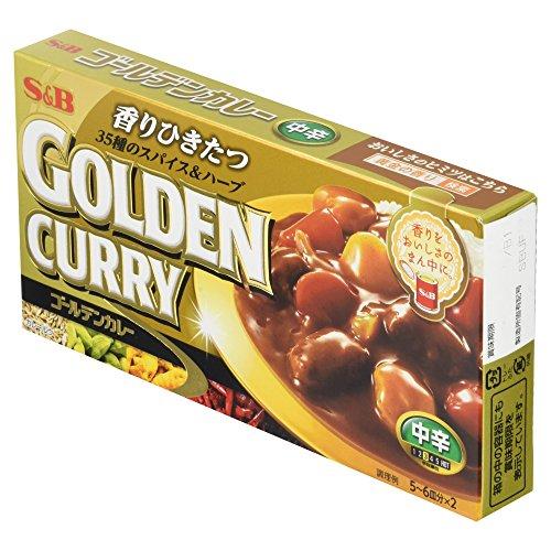 エスビー食品『ゴールデンカレー中辛』