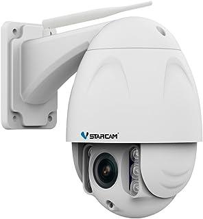 Vstarcam Outdoor IP66 IP Camera, Full HD 2.0MP 1080P PTZ 4X Zoom High Speed CCTV Surveillance Camera with IR Night Vision,...
