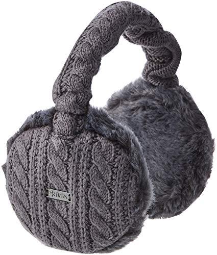 Barts Damen Ohrenschützer Grau (Grau) One Size