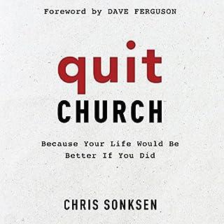 Quit Church audiobook cover art