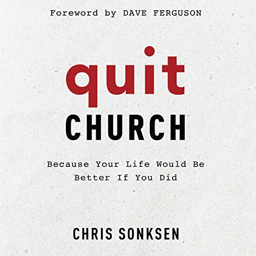 Quit Church audiobook cover art