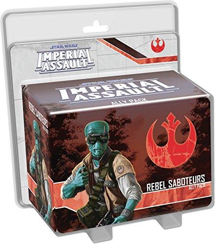 Asmodee Star Wars - Assauto sobre el Imperio - Extensión: Sabotadores Rebeldes Juego de Mesa - Juego de Aventuras - Juego de Figuras