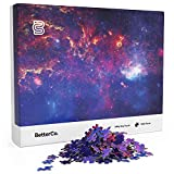 Milky Way Puzzle for Adults - 1000 Pieces - Explore The Stars with This Difficult 1000 Piece Puzzle of Outer Space! A Vibrant Galaxy Photo Shot from The Hubble Telescope!