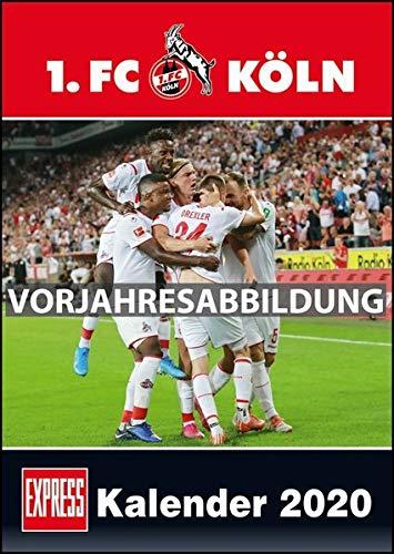 1. FC Köln 2021 ‒ Fußball-Kalender ‒ Express-Fankalender ‒ Wandkalender 29,7 x 42 cm