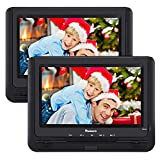 "Best Car DVD Players - NAVISKAUTO 9.5"" Portable DVD Player Dual Screen Review"