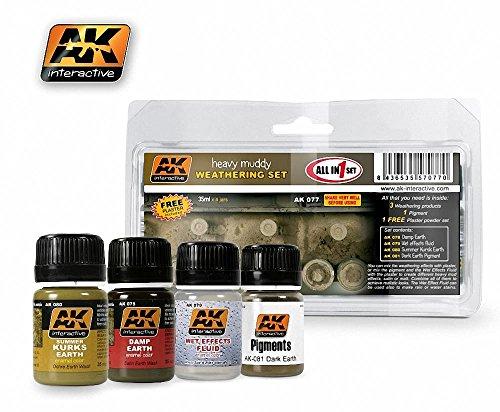 AK Interactive Heavy Muddy Set # 00077