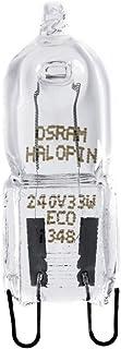 Osram 66733 Halopin, Halógenas G9 de 33 W/230 V, Transparente,  Set de 5