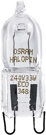 OSRAM Halogen-Stecksockellampe G9 dimmbar Halopin Superstar / EEK D / 33 Watt - hell wie 40W / 460 Lumen / warmweiß - 2700K, 5er Pack