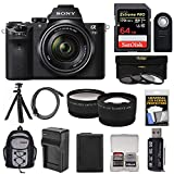 Sony Alpha A7 II Digital Camera & 28-70mm FE OSS Lens with 64GB Card + Backpack + Battery + Tripod +...