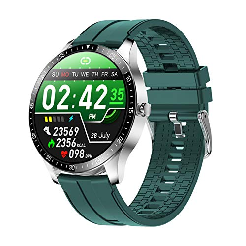 YDZ Monitor De Sueño con Ritmo Cardíaco S80 IP68 Hombres Inteligentes Impermeables Hombres Fitness Fitness Ejercicio 2021 Smartwatch para iOS Android,D