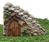 Ebros Gift Enchanted Fairy Garden Miniature Curved Stone Steps Cottage Nook Figurine 4.75'H Do It Yourself Ideas For Your Home