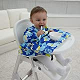 Veronica Baby Weaning Bib Feeding Highchair Cover Bibs Baby Led Weaning Ideal for BLW Toddler...