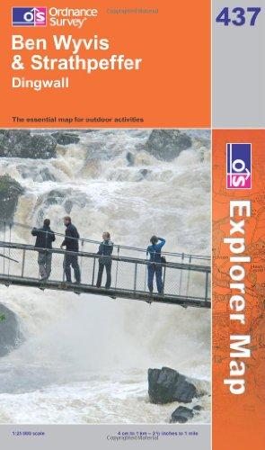 OS Explorer map 437 : Ben Wyvis & Strathpeffer