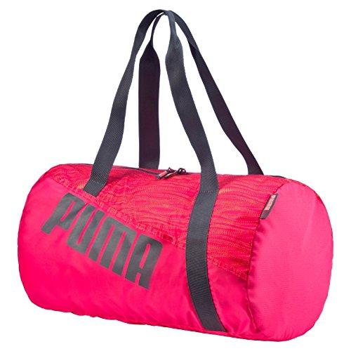 PUMA Sports Studio Barrel Bag red Rose Red/Fluro Peach/Periscope Size:Osfa