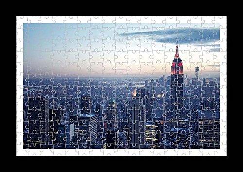 Puzzle stile (preconfigurati) Stampante muro di Empire State Building by Lisa Loft