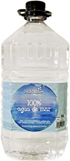 Holoslife 2500000005 Agua de Mar - 3 Recipientes de 5000 ml - Total: 15000 ml
