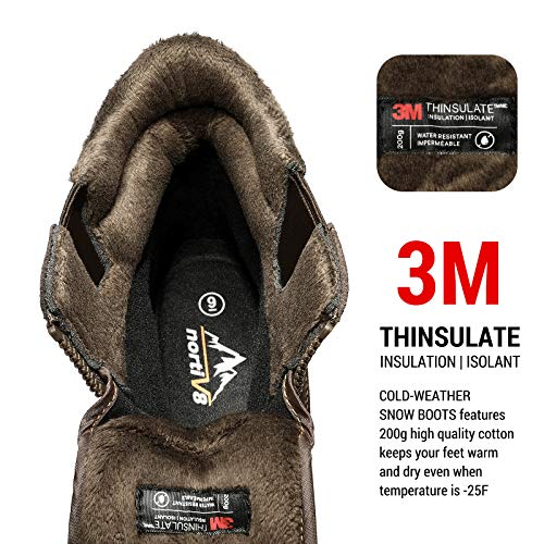 NOR 8 Insulated Waterproof Shoes