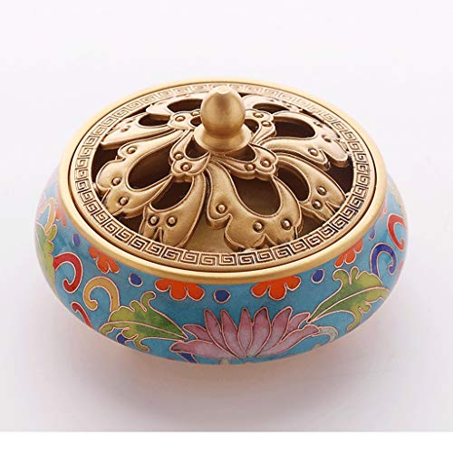 Find Cheap LHBNH Burner Incense Burner Fortune Burning Blue Incense Burner - HJKS Home Imitation Pal...
