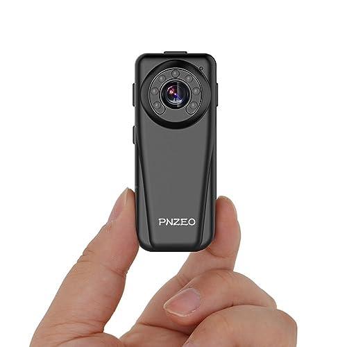 b7f1d7e6eb PNZEO Mini Camera Spy camera Hidden Camera 1920x1080P Full HD Infrared  night-vision Camera the
