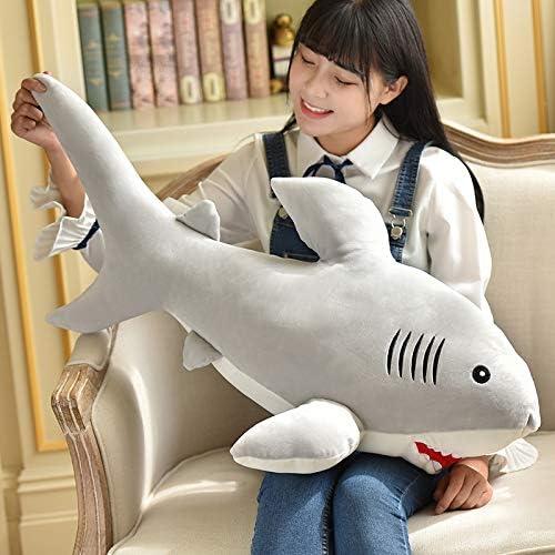 DONGER Weißhe Wale Schlafen Kissen Spielzeug Puppe Geburtstag Geschenk Büro Kissen Puppe, Freundin, Wal, 90 cm Zu Senden