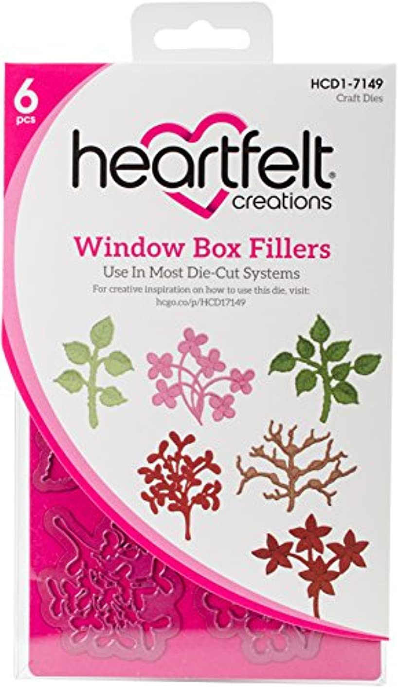 Heartfelt Creations Window Box Fillers Cut and Emboss Dies - HCD1-7149