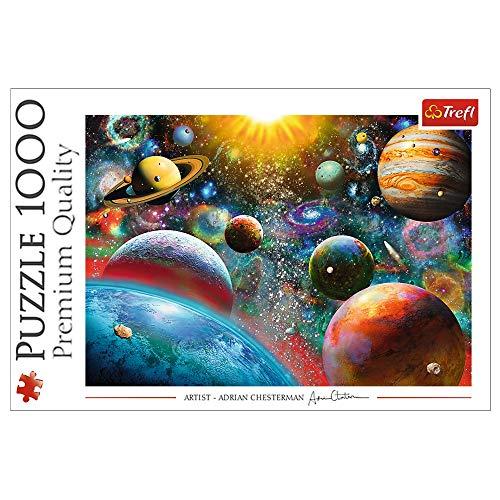 Trefl, Puzzle, Weltall, 1000 Teile, für Kinder ab 12 Jahren