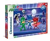 Clementoni 27209–Puzzle 3PJ Masks, 104Piezas