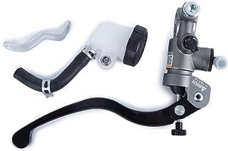 Stoneder avant en aluminium Levier de frein Ma/ître Cylindre avec r/éservoir pour 7//20,3/cm 22/mm Guidon Moto Motor Bike Suzuki GSXR Yamaha Honda Kawasaki
