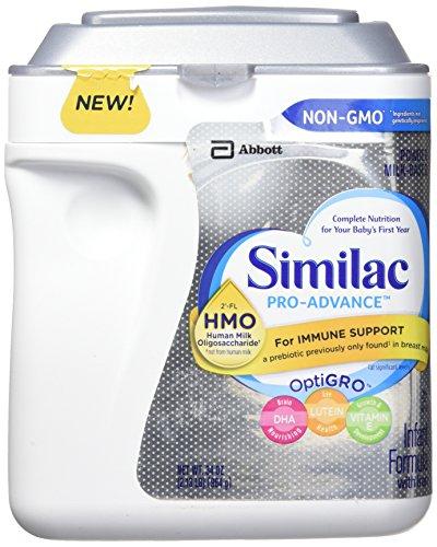 Similac Similac Pro Advanced Human Milk oligosaccharide Milk Based Powder Infant Formula (Net Wt 34 Ounce ),, ()