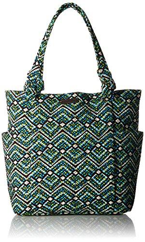 Vera Bradley Women's Signature Cotton Hadley Tote Bag, Rain Forest