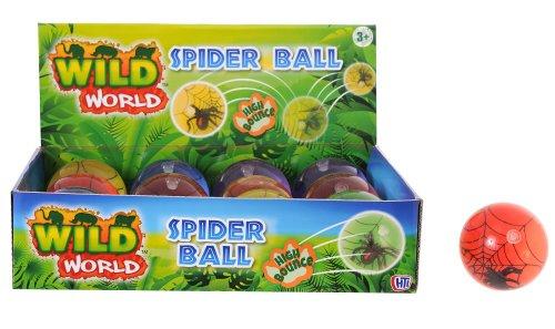 Toyland L'Araignée de Rebond de 6 centimètres de Haut Balll - Les Jouets de Sac de Fête - 1 Choisi Au Hasard (HL292) [Le Jouet]
