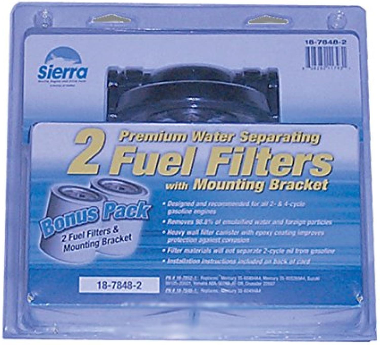 Sierra International 18-7848-2 1 4  Aluminum Marine Fuel Water Separator Kit