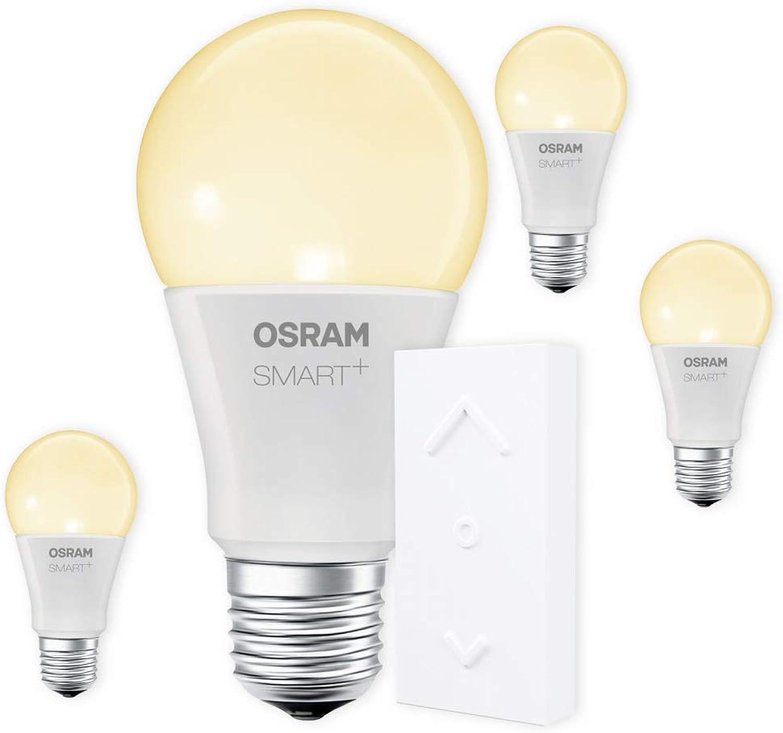 OSRAM SMART+ SWITCH KIT E27 2700K warmwei dimmbar LED + Fernbedienung wei Auswahl 4er Set