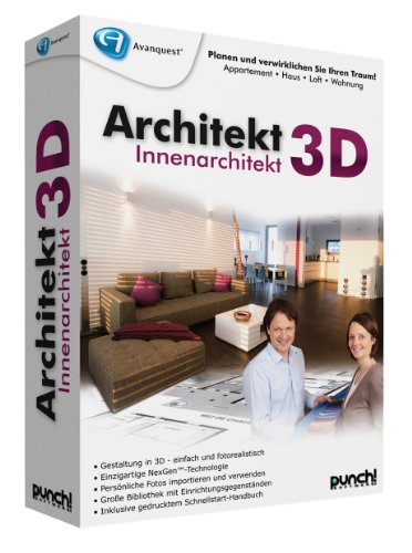 Avanquest Architekt 3D Innenarchitekt