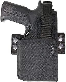 Kahr MK9 Compatible Holster - Universal Nylon Belt Holster for Gun with Light/Laser - Old-World Craftsmanship (654)