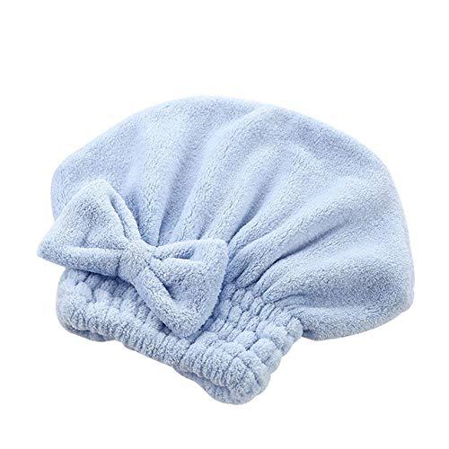 A.G.S. AGS Cartoon Microvezel Haar Snel Droog Haar Hoed Verpakt Handdoek Bowknot Badmuts voor Bad Saunas Spa Haar Cover