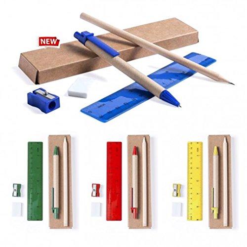 DISOK Lote de 30 Estuches de Cartón 100% Reciclado con 5 Piezas Cada Uno: Amazon.es: Juguetes y juegos